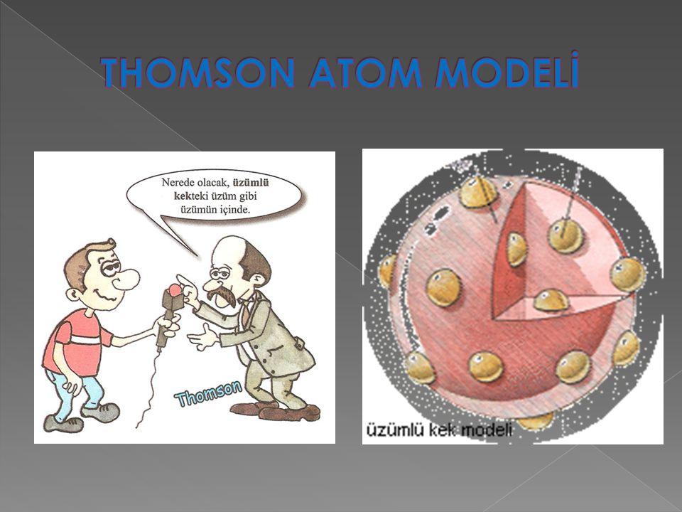 THOMSON ATOM MODELİ