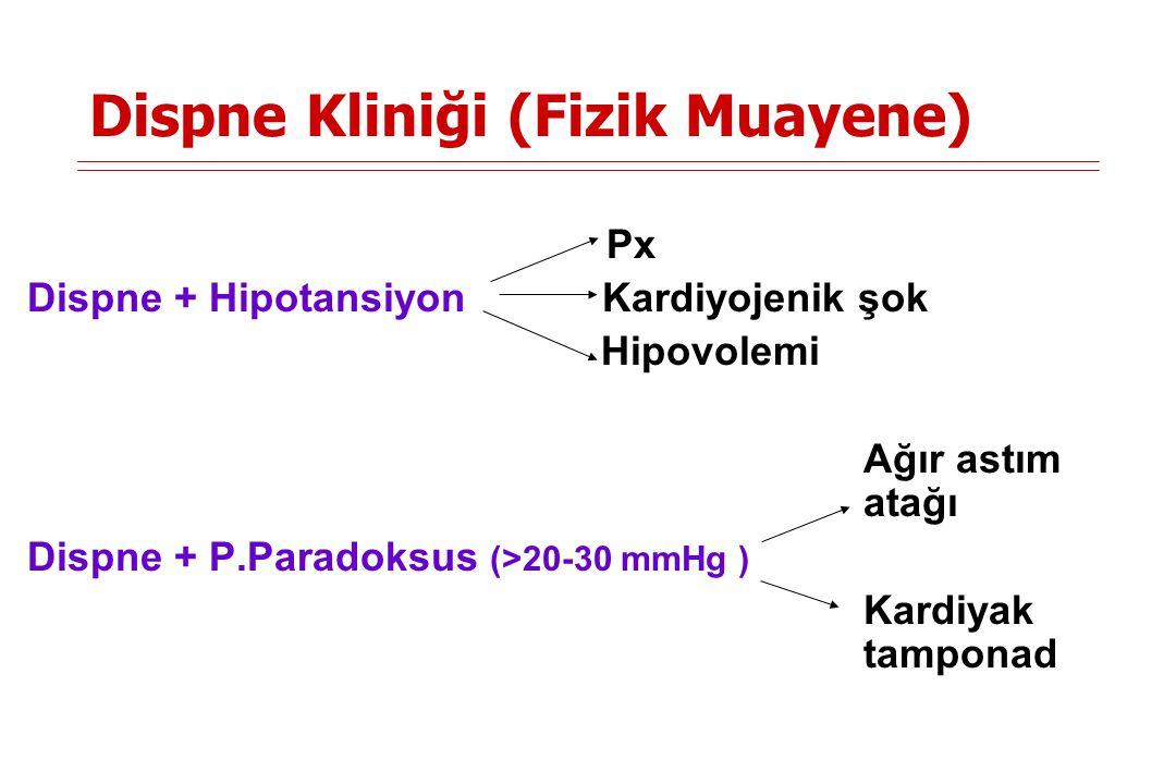 Dispne Kliniği (Fizik Muayene)