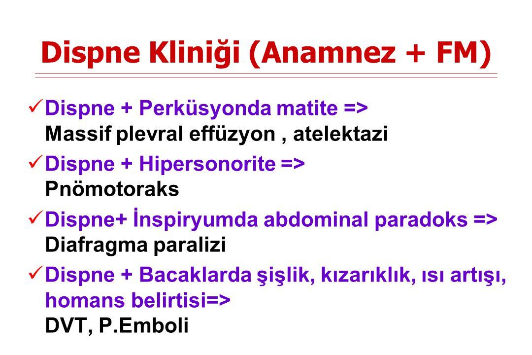 Dispne Kliniği (Anamnez + FM)