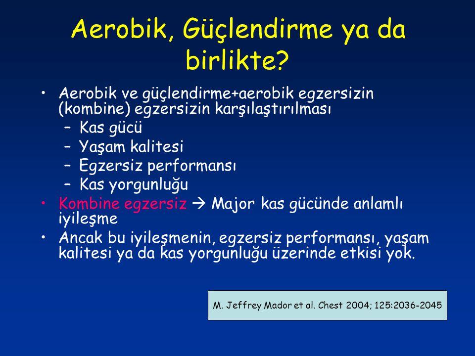 Aerobik, Güçlendirme ya da birlikte