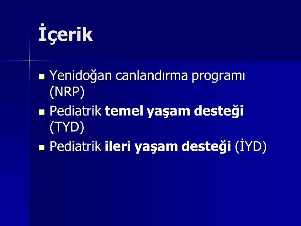 İçerik Yenidoğan canlandırma programı (NRP)
