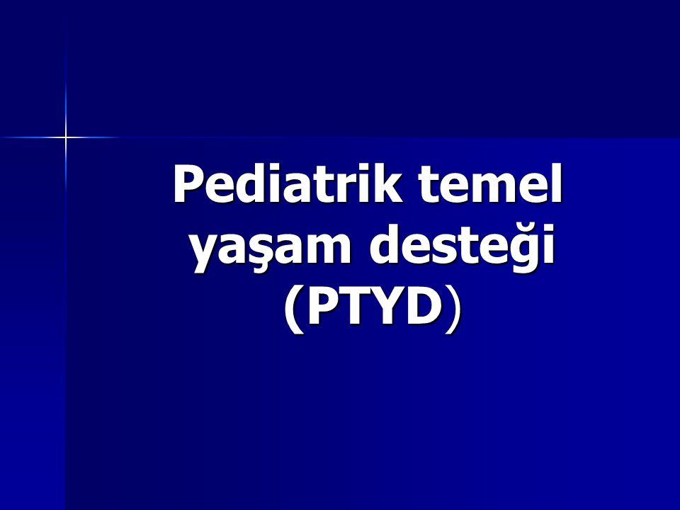 Pediatrik temel yaşam desteği (PTYD)