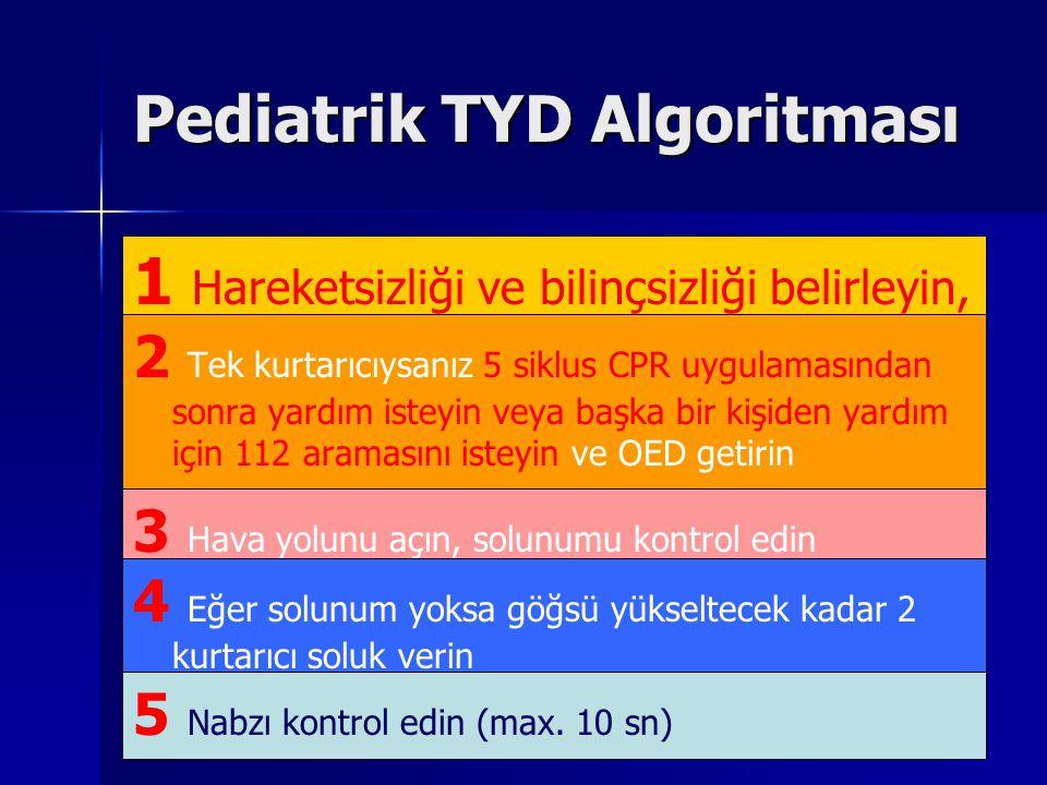 Pediatrik TYD Algoritması