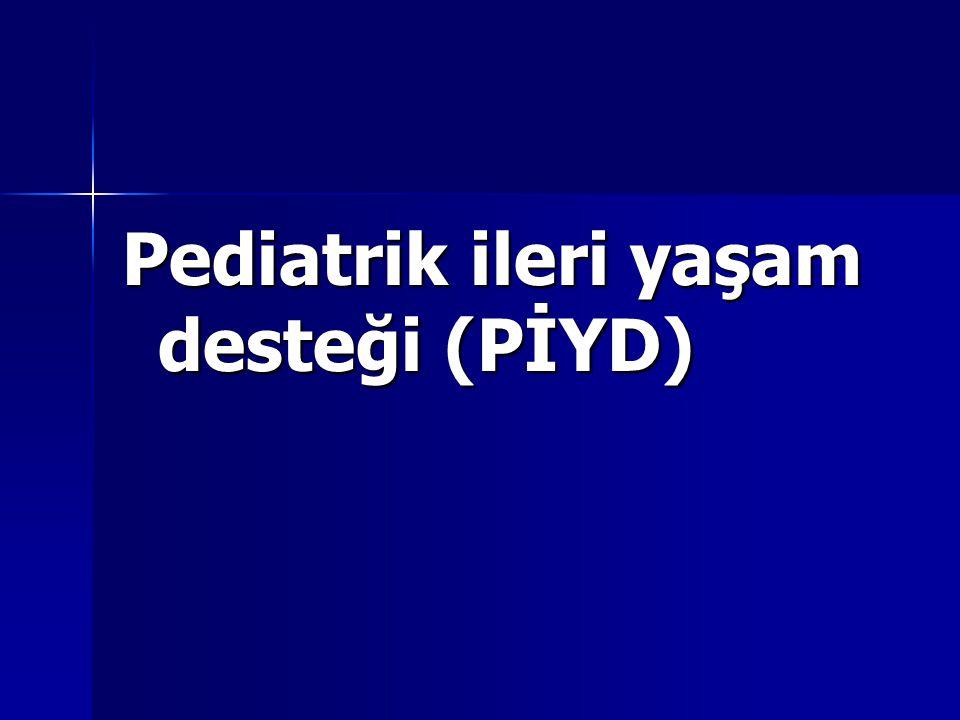 Pediatrik ileri yaşam desteği (PİYD)