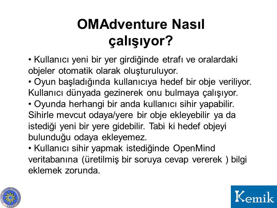 OMAdventure Nasıl çalışıyor