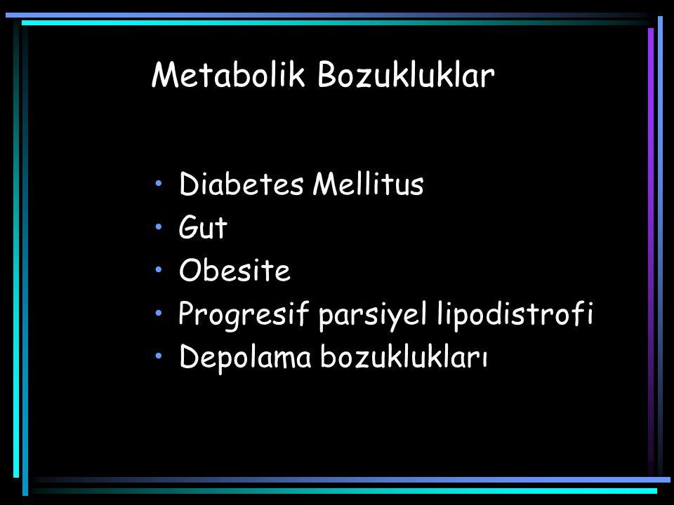 Metabolik Bozukluklar