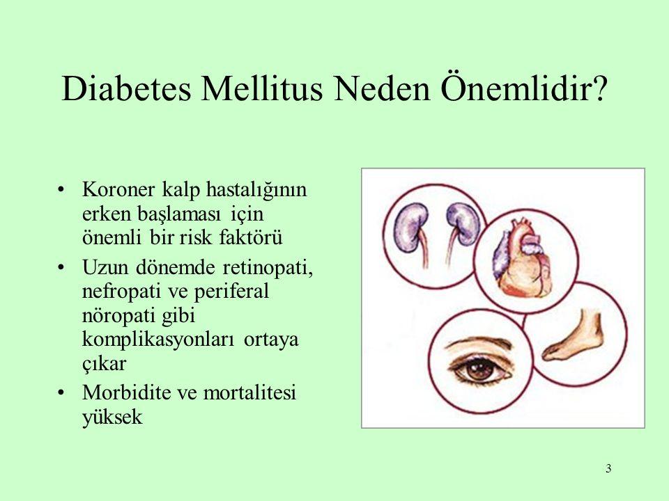 Diabetes Mellitus Neden Önemlidir