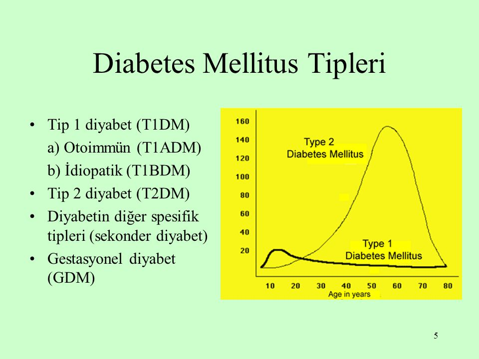 Diabetes Mellitus Tipleri