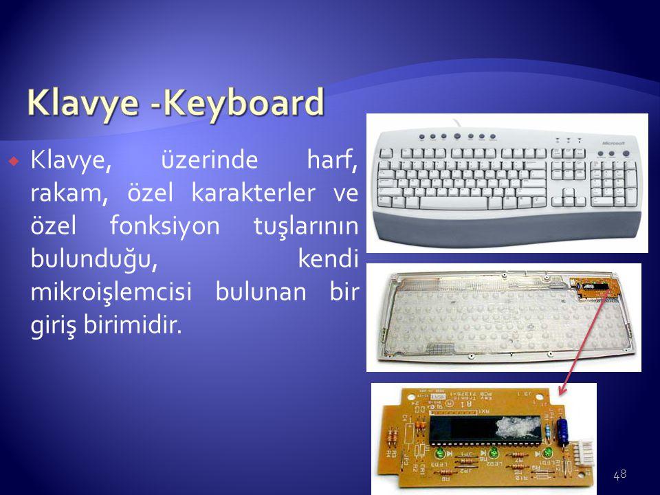 Klavye -Keyboard