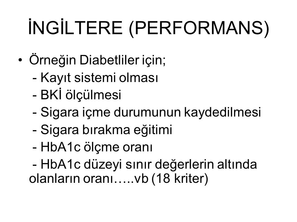 İNGİLTERE (PERFORMANS)