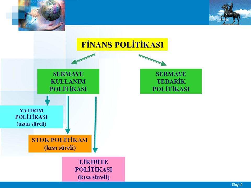 Yatırım Politikasının Önemi