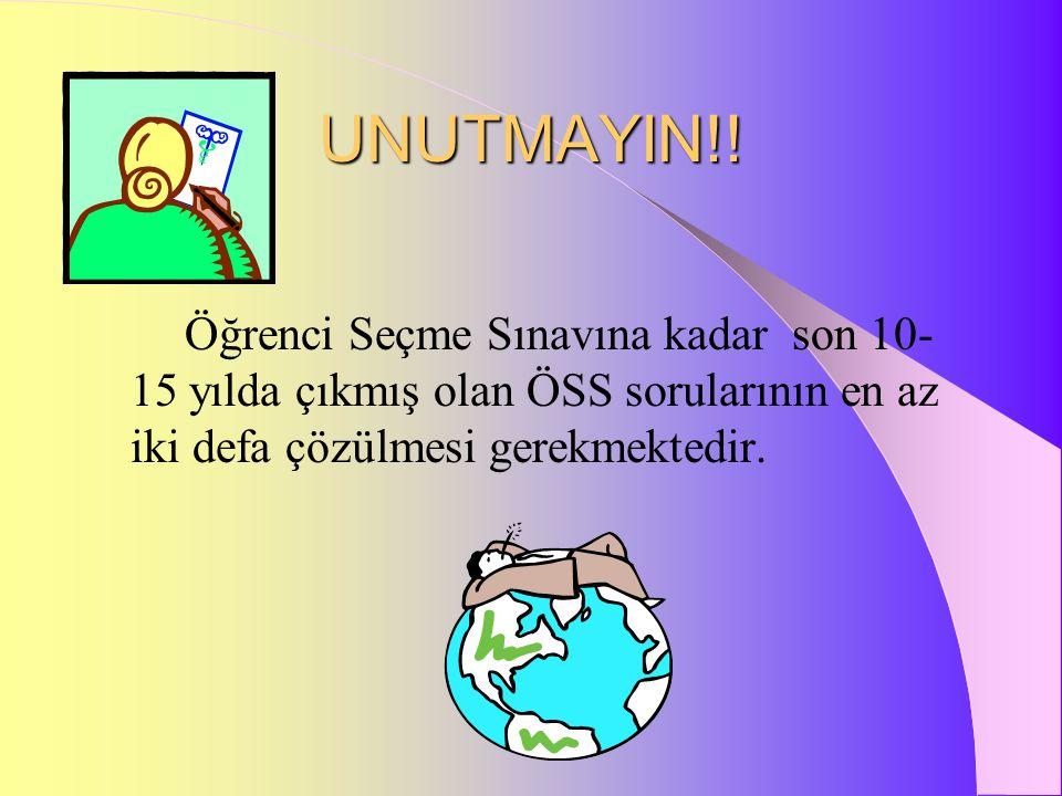 UNUTMAYIN!.