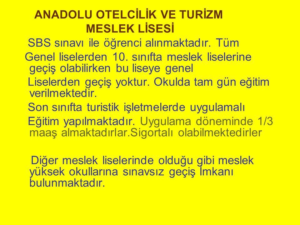 ANADOLU OTELCİLİK VE TURİZM