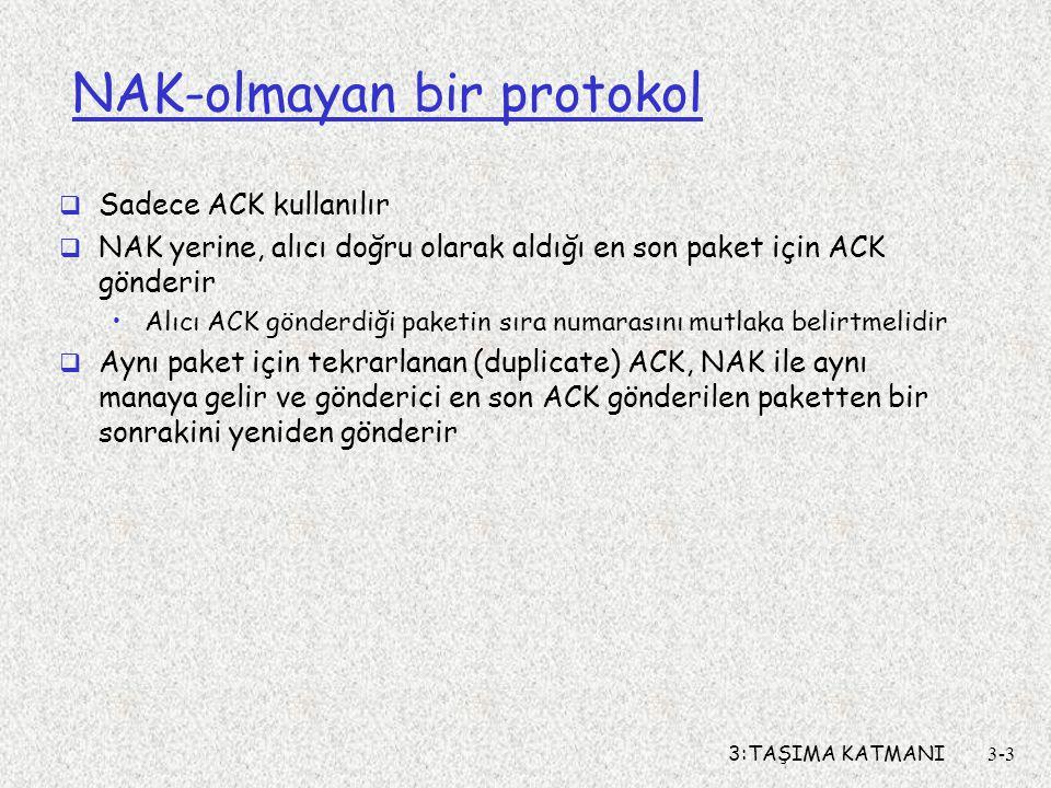 NAK-olmayan bir protokol
