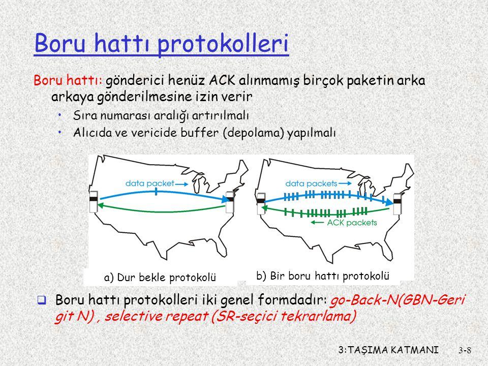 Boru hattı protokolleri