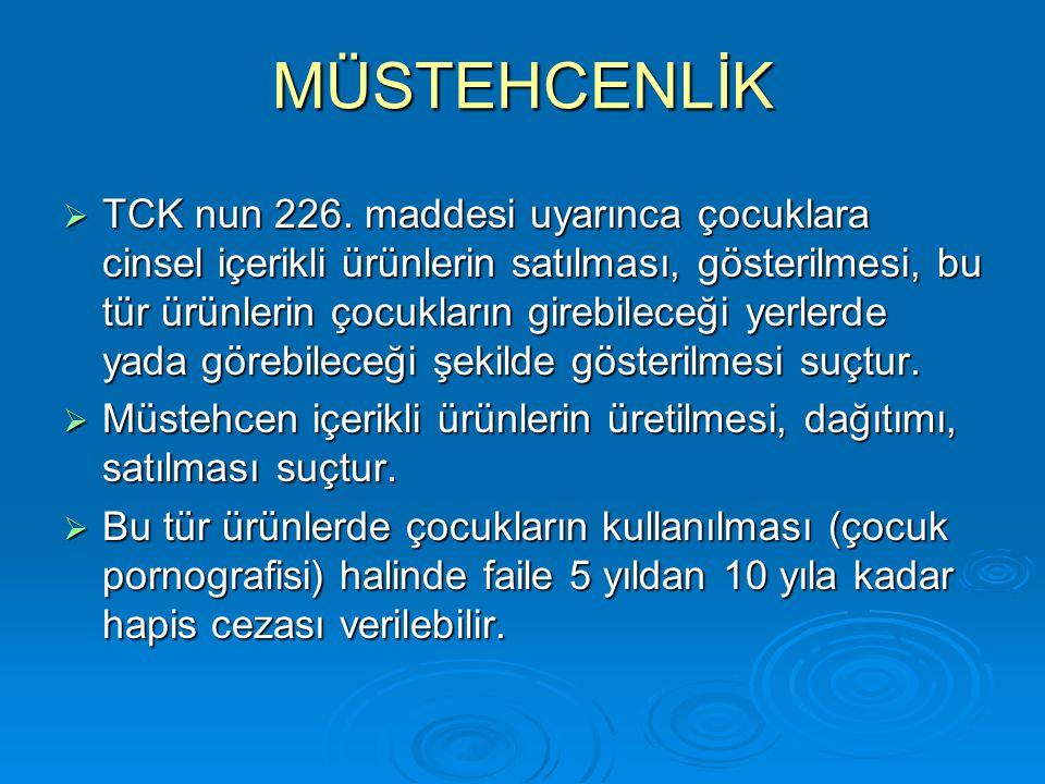 MÜSTEHCENLİK