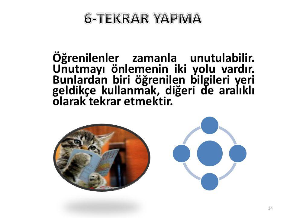 6-TEKRAR YAPMA