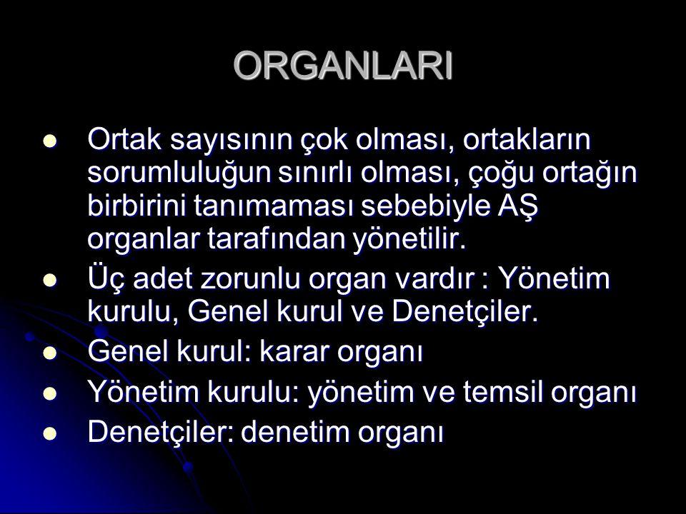 ORGANLARI