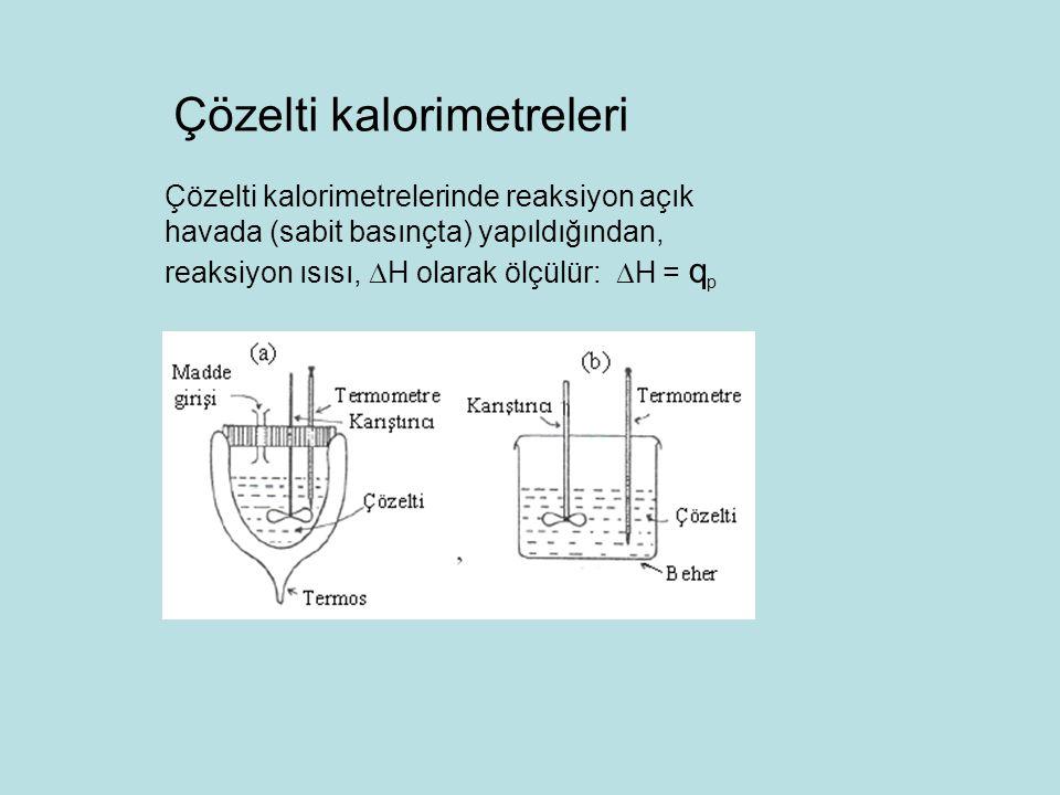 Çözelti kalorimetreleri
