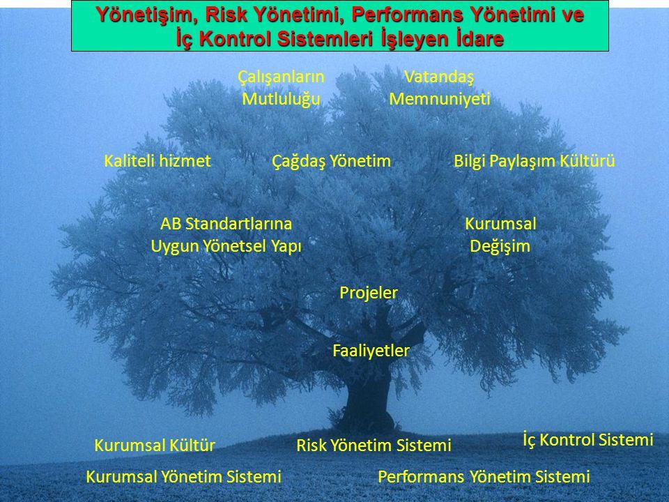 Yönetişim, Risk Yönetimi, Performans Yönetimi ve