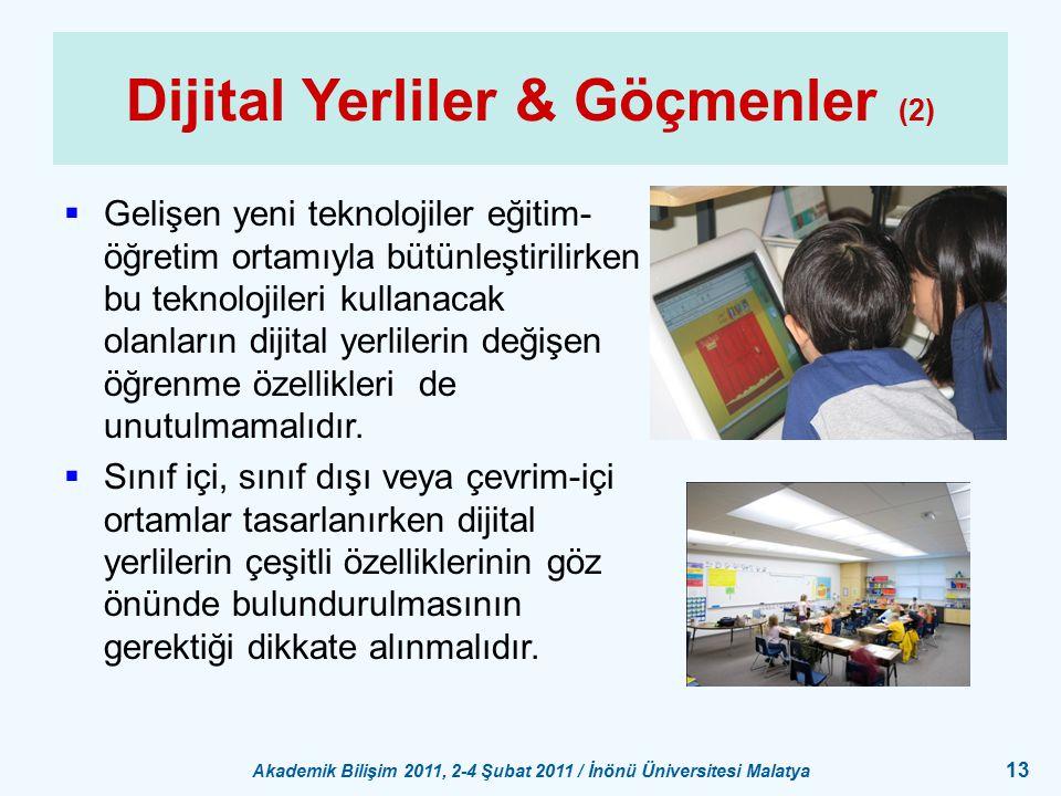 Dijital Yerliler & Göçmenler (2)