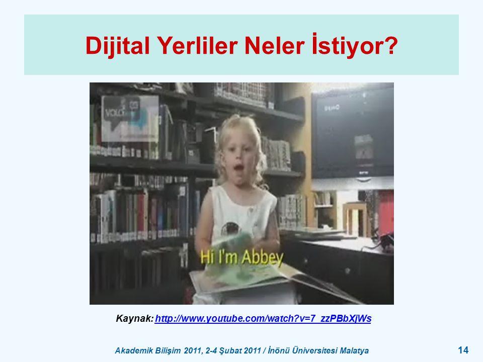 Dijital Yerliler Neler İstiyor