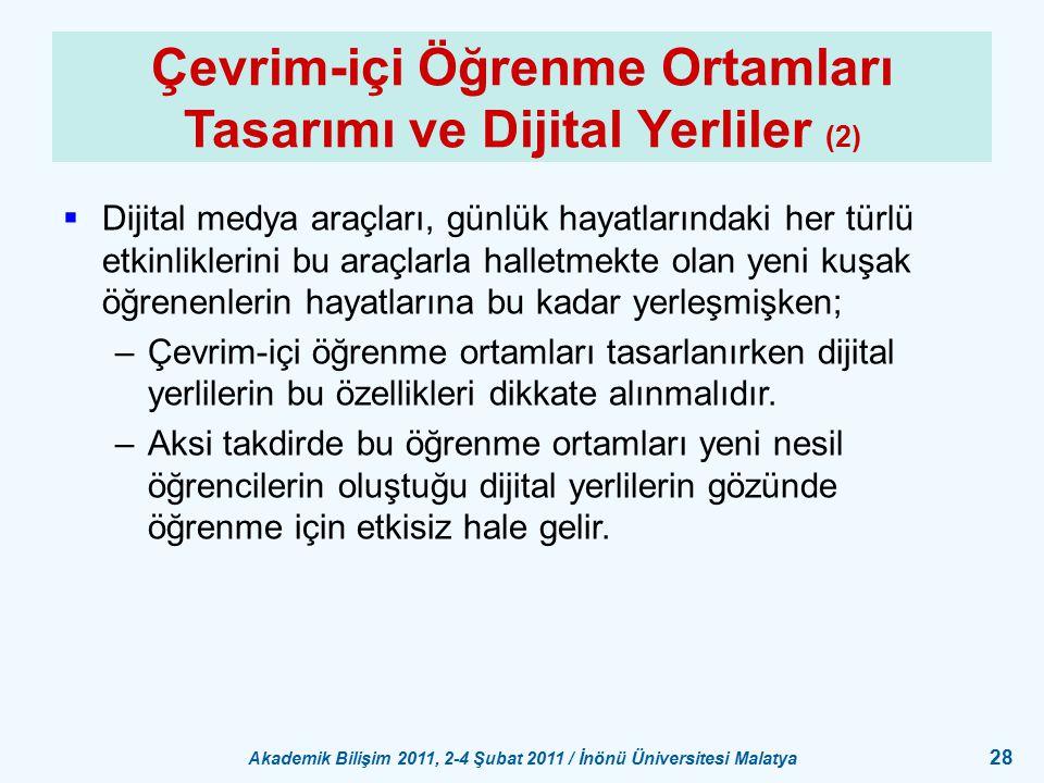 Çevrim-içi Öğrenme Ortamları Tasarımı ve Dijital Yerliler (2)
