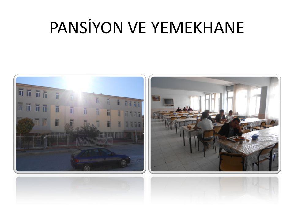 PANSİYON VE YEMEKHANE