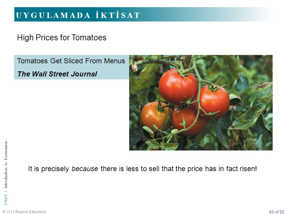 High Prices for Tomatoes