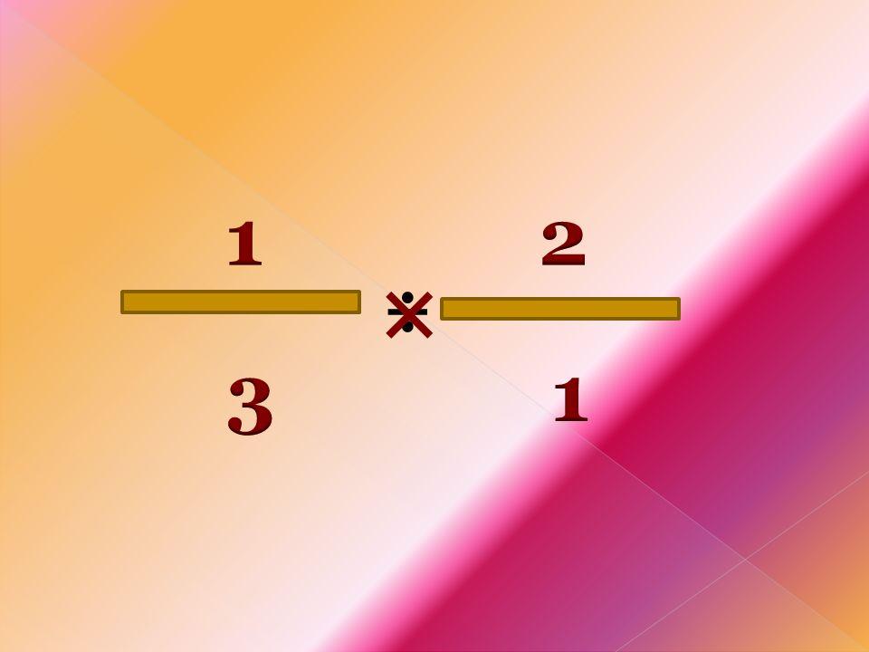 1 2 × ÷ 3 1