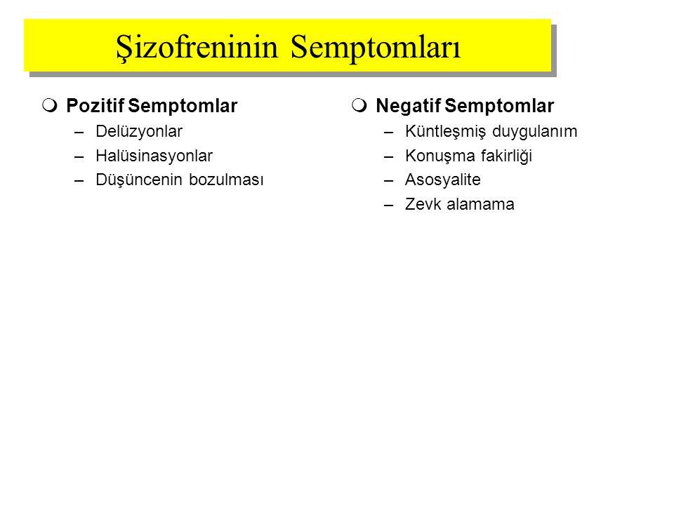 Şizofreninin Semptomları