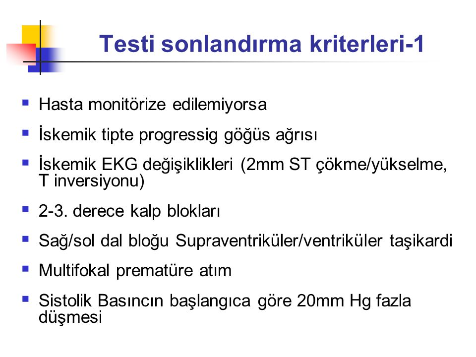 Testi sonlandırma kriterleri-1