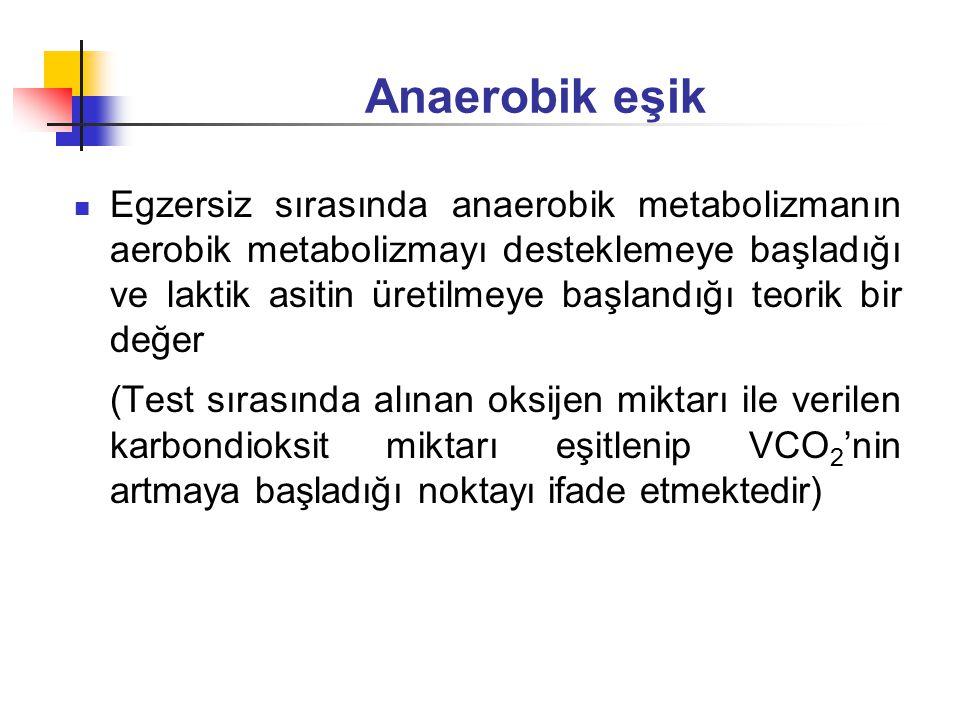 Anaerobik eşik