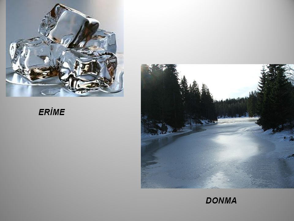 ERİME DONMA