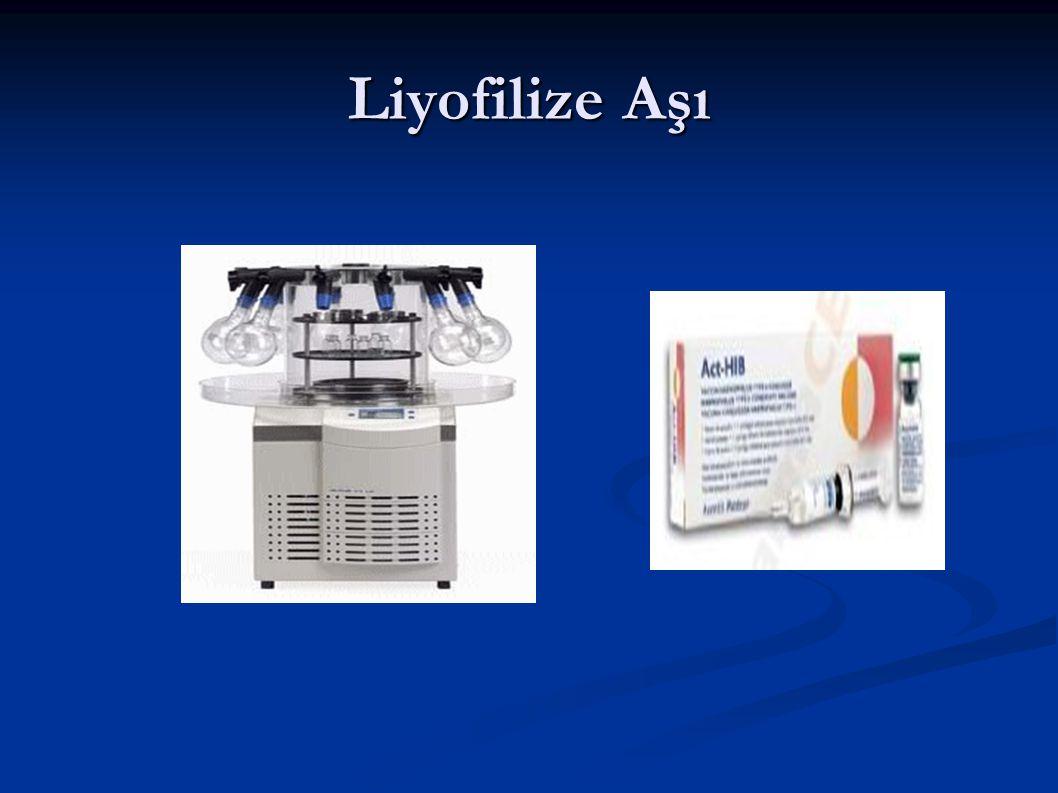 Liyofilize Aşı