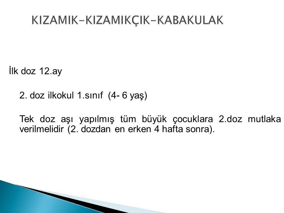 KIZAMIK-KIZAMIKÇIK-KABAKULAK
