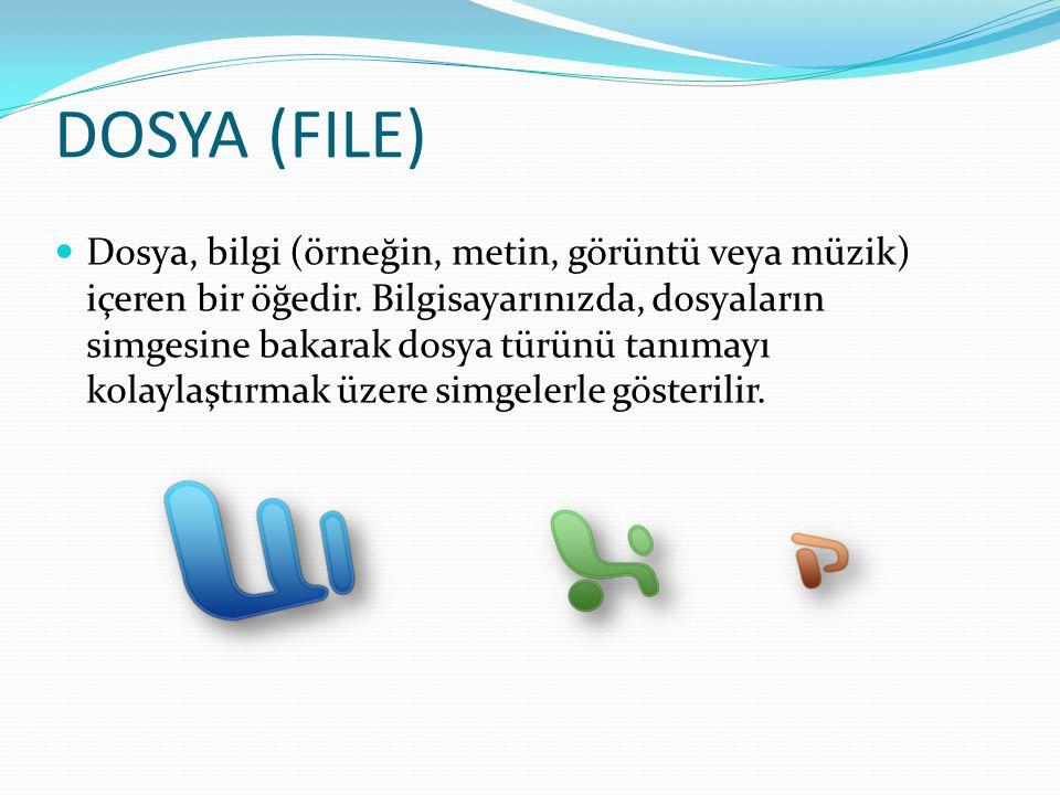 DOSYA (FILE)