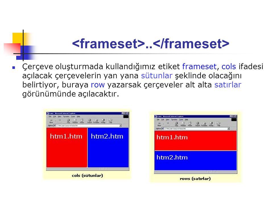 <frameset>..</frameset>