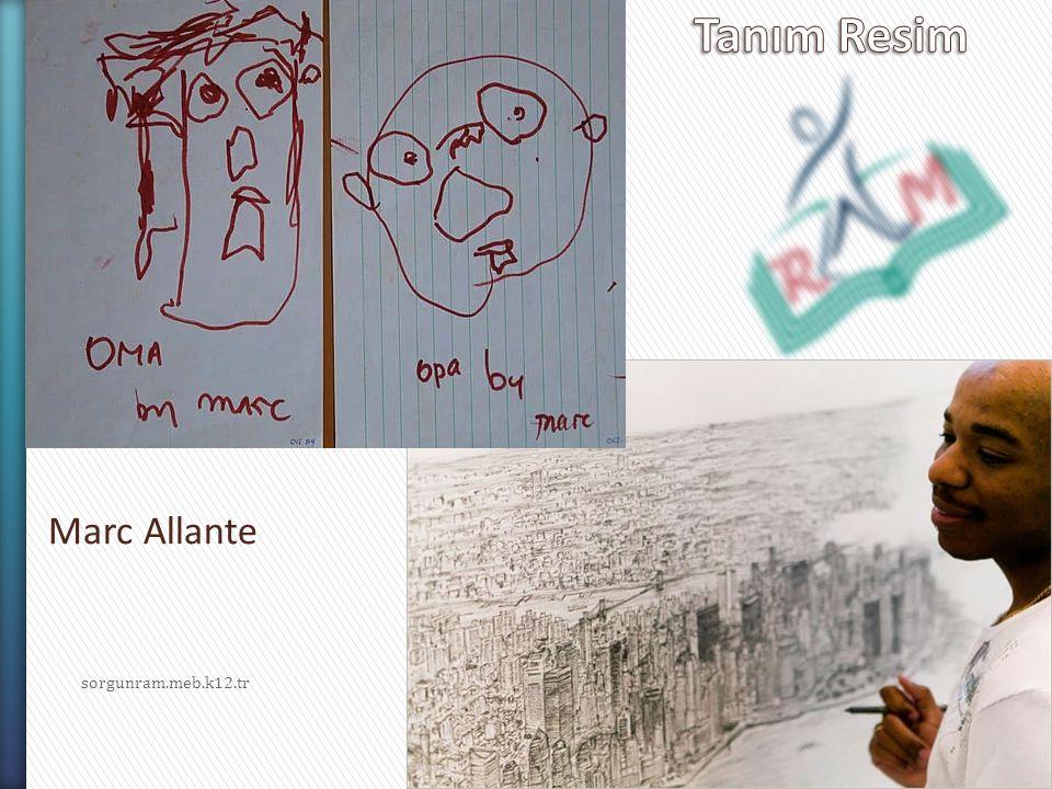Tanım Resim Marc Allante sorgunram.meb.k12.tr