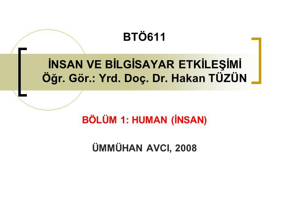 BÖLÜM 1: HUMAN (İNSAN) ÜMMÜHAN AVCI, 2008