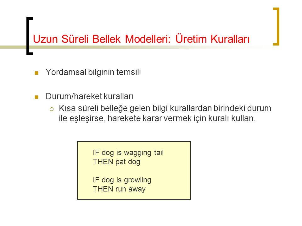 Uzun Süreli Bellek Modelleri: Üretim Kuralları