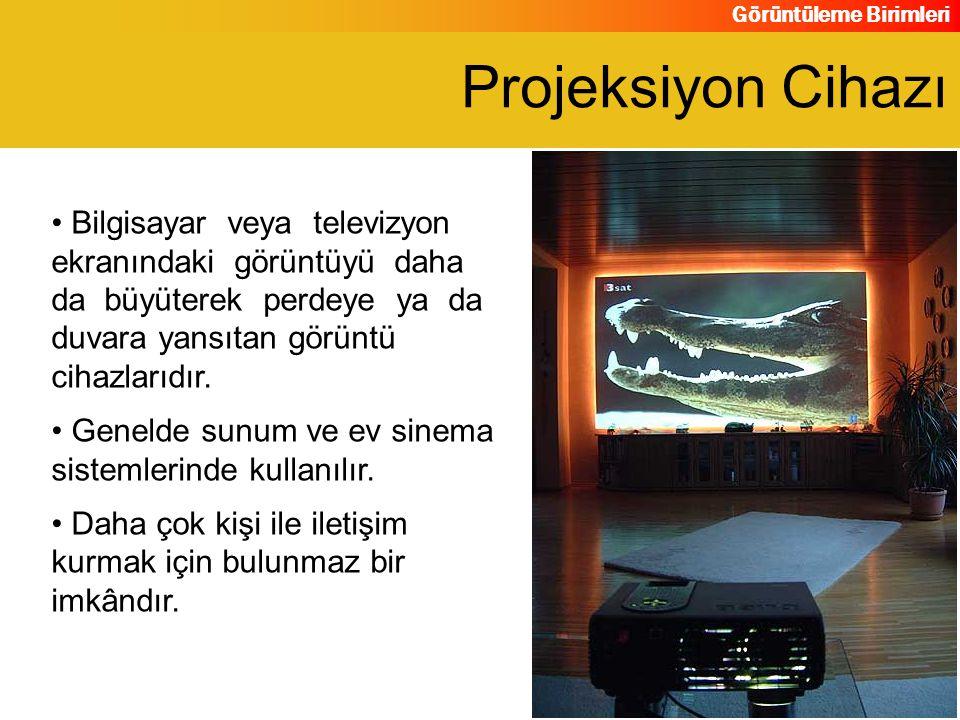 Projeksiyon Cihazı