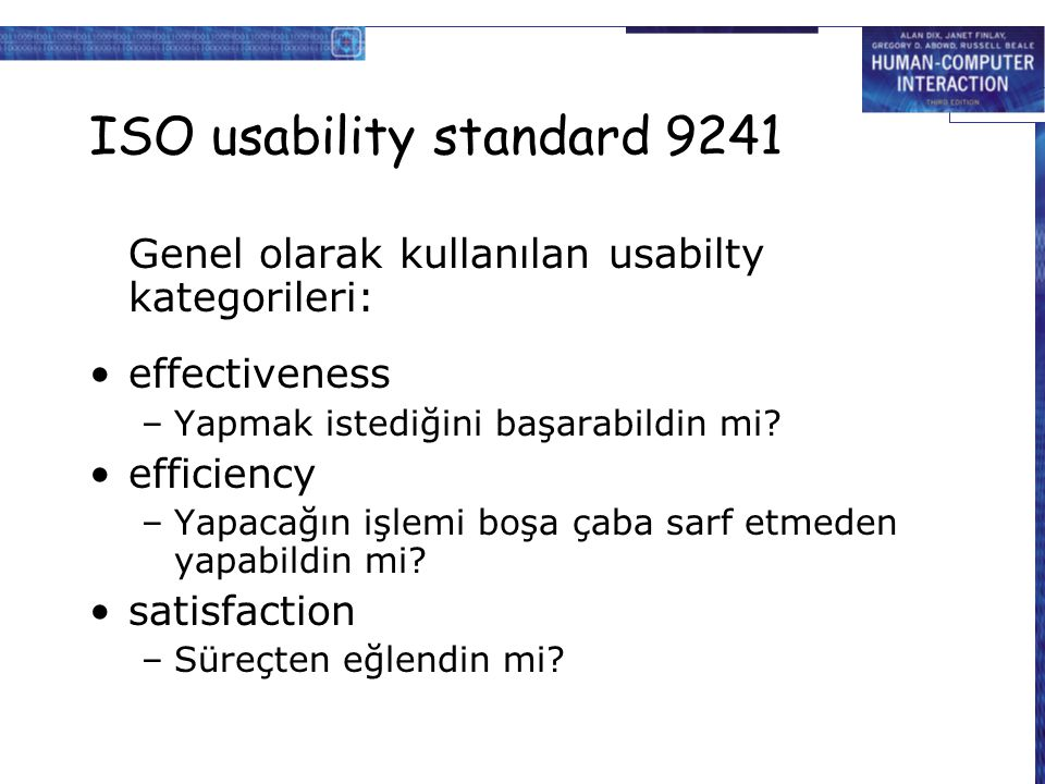 ISO usability standard 9241