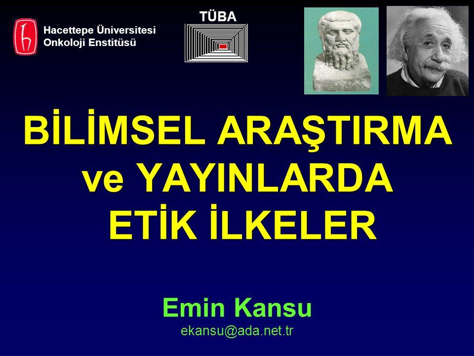TÜBA Hacettepe Üniversitesi. Onkoloji Enstitüsü.