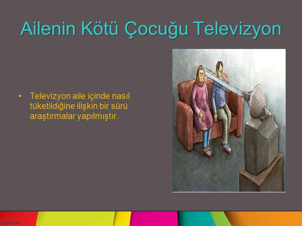 Ailenin Kötü Çocuğu Televizyon