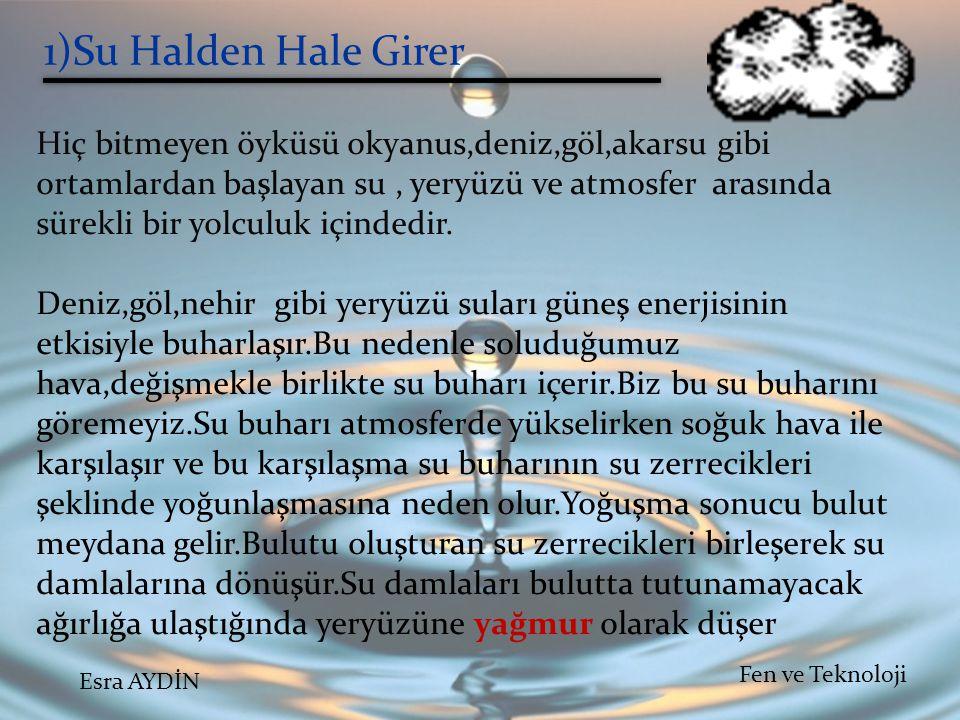 1)Su Halden Hale Girer