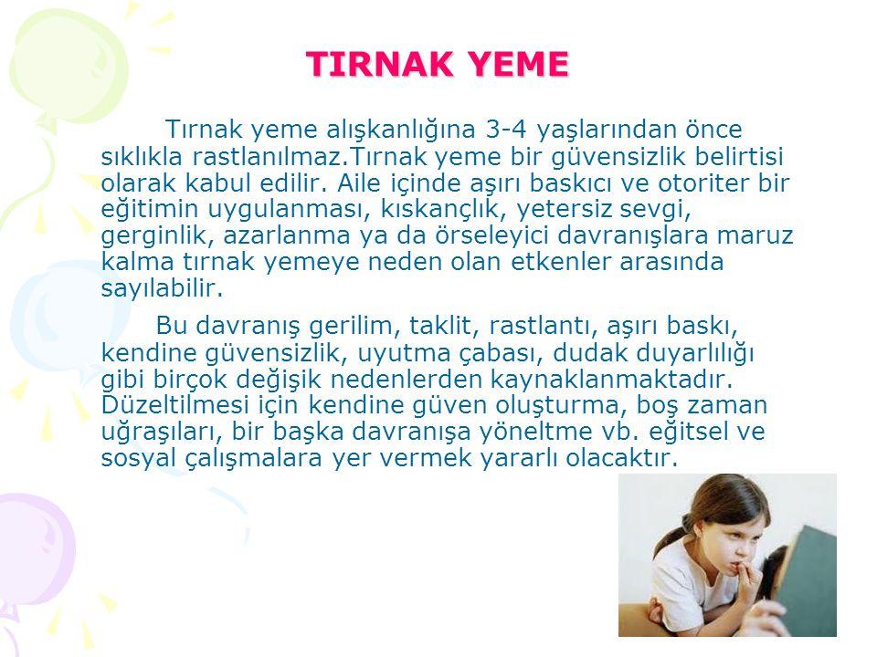 TIRNAK YEME