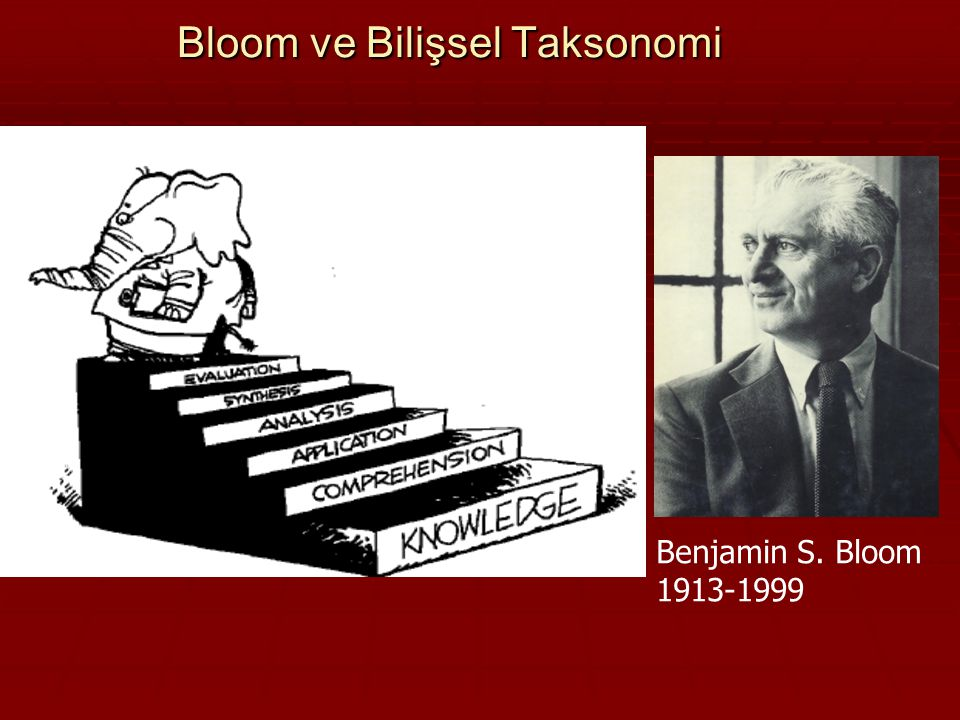 Bloom ve Bilişsel Taksonomi