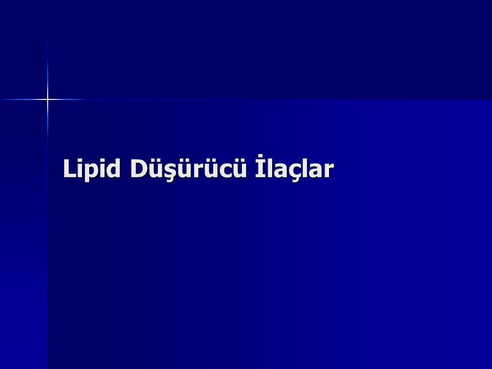Lipid Düşürücü İlaçlar