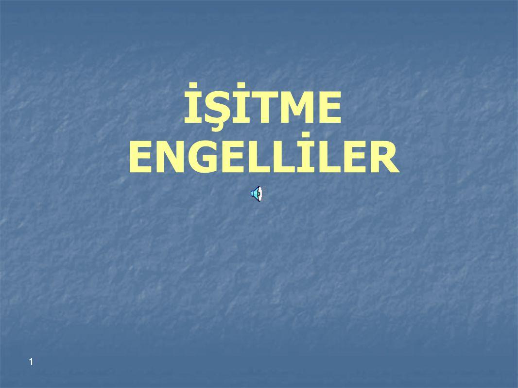 İŞİTME ENGELLİLER 1